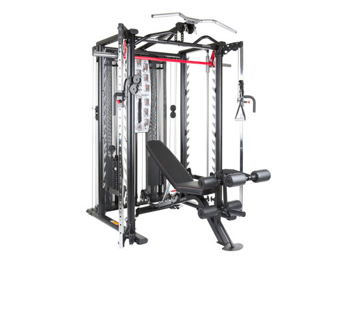 Inspire Inspire SCS Smith Cage System - incl. Trainings Bench - Leg Developer - Preacher Curl