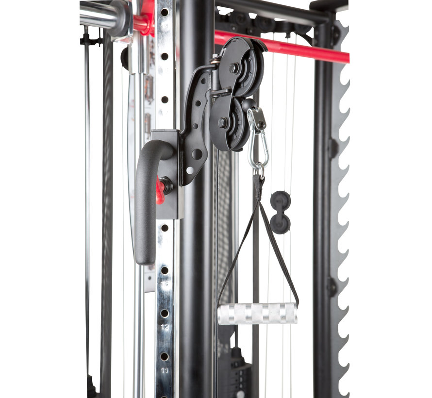 Inspire SCS Smith Cage System - incl. Trainings Bench - Leg Developer - Preacher Curl