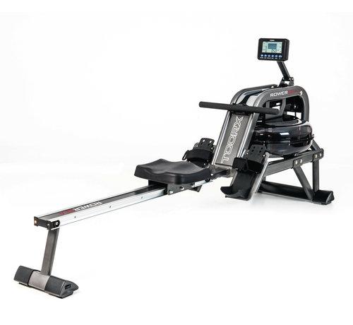 Toorx Fitness Toorx ROWER-SEA waterroeier - 6 weerstanden - hartslagmeting - 130 kg gebruikersgewicht