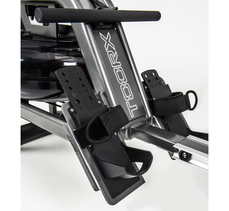 Toorx ROWER-SEA waterroeier - 6 weerstanden - hartslagmeting - 130 kg gebruikersgewicht