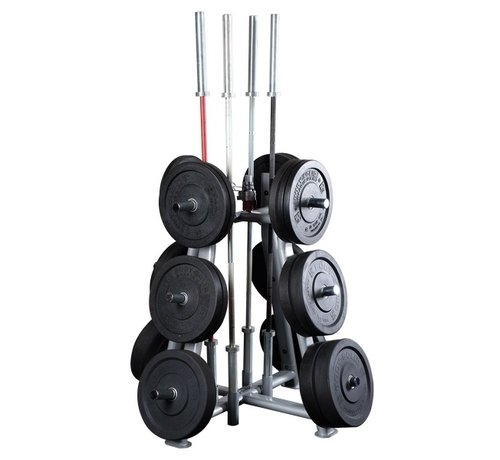 ProClubLine ProClubLine Weight Tree SWT1000 - for weight plates - barbells and clips