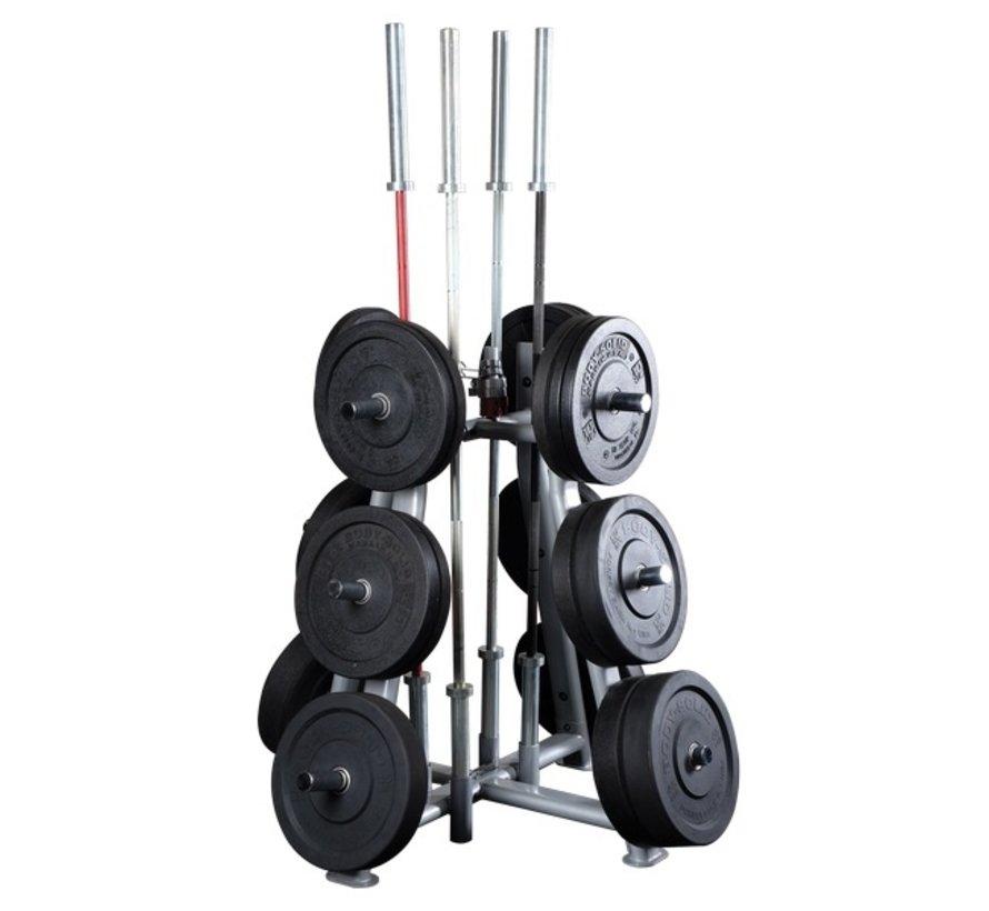 ProClubLine Weight Tree SWT1000 - voor halterschijven - halterstangen en sluiters