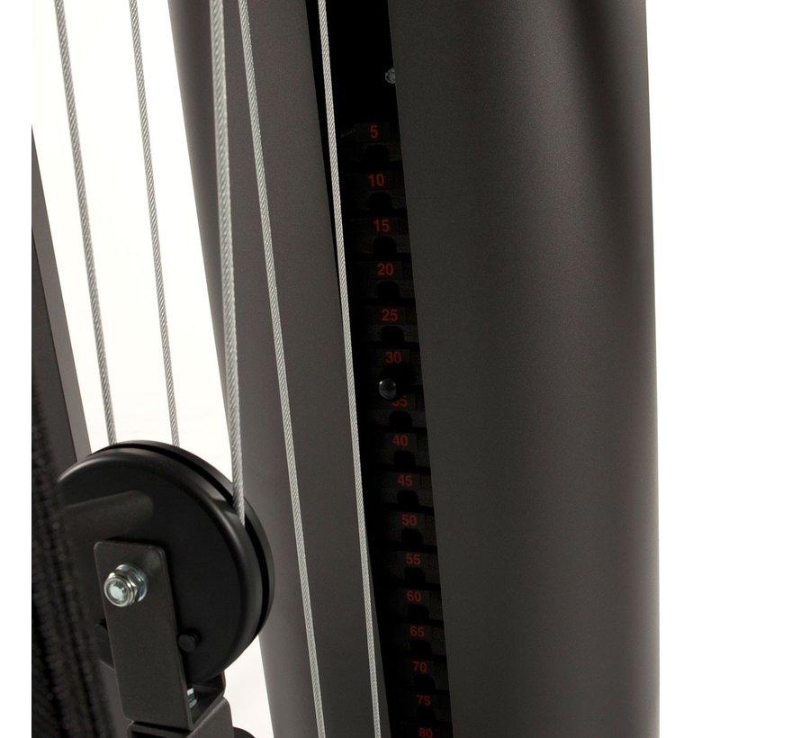 AUTARK 1500 Homegym - met Leg Developer en roeifunctie