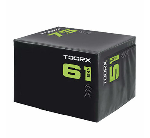 Toorx Fitness Toorx SOFT Plyobox  Light 3-in-1 - 76x61x51cm