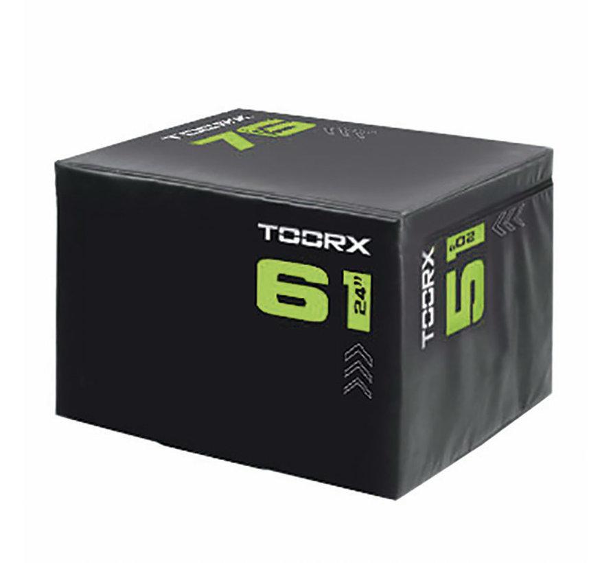 Toorx SOFT Plyobox  Light 3-in-1 - 76x61x51cm