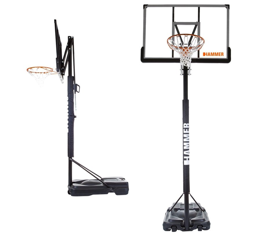 Hammer SLAM SHOT PRO S Basketbal hoop incl. retour systeem