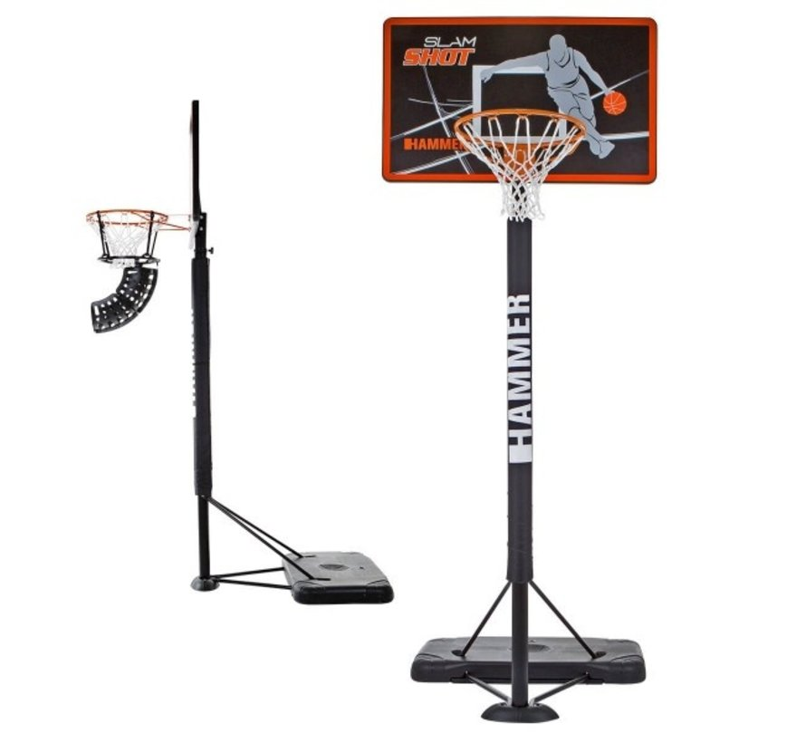 Hammer SLAM SHOT Basketbal hoop - incl. retour systeem