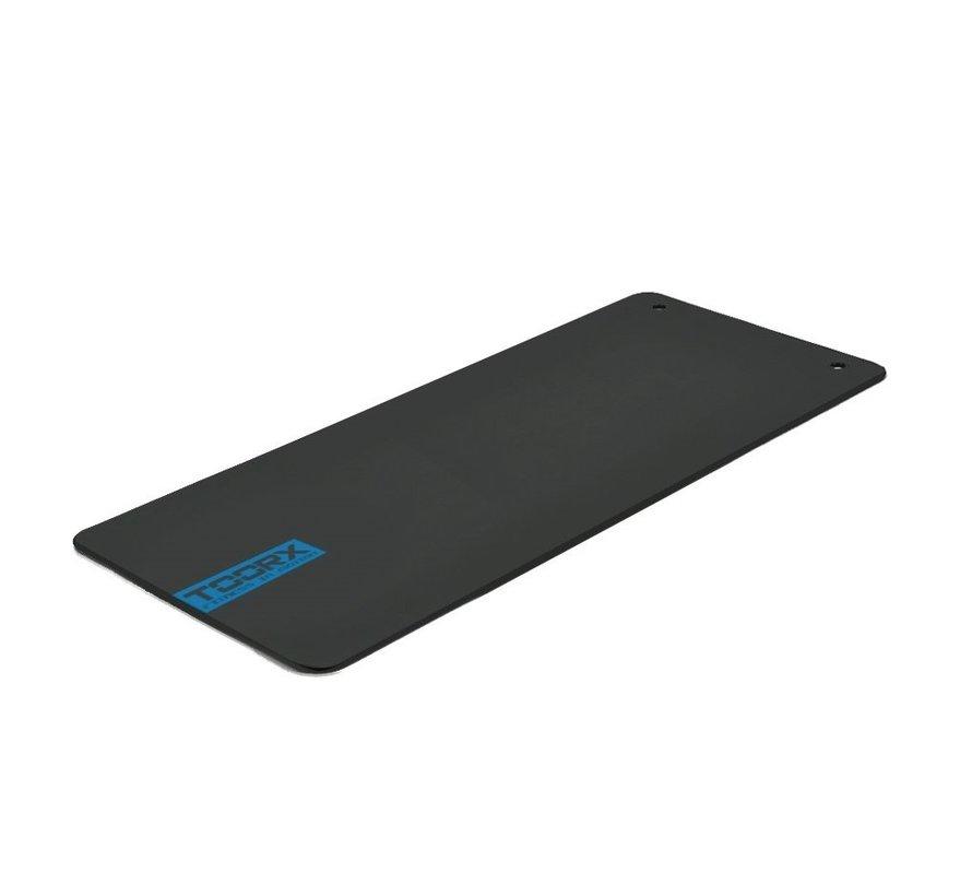 Toorx Fitnessmat Studio - Exercize mat - Rubber - with eyelet