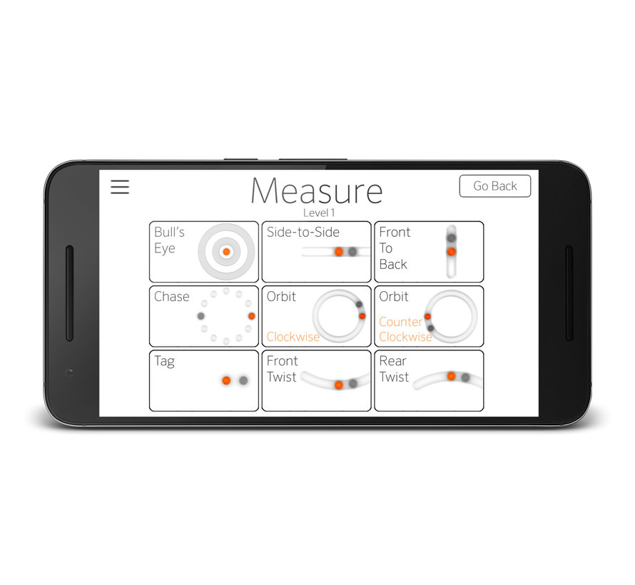 Modern Movement M-Pad Balance Trainer - With M-Trac App - three different heights
