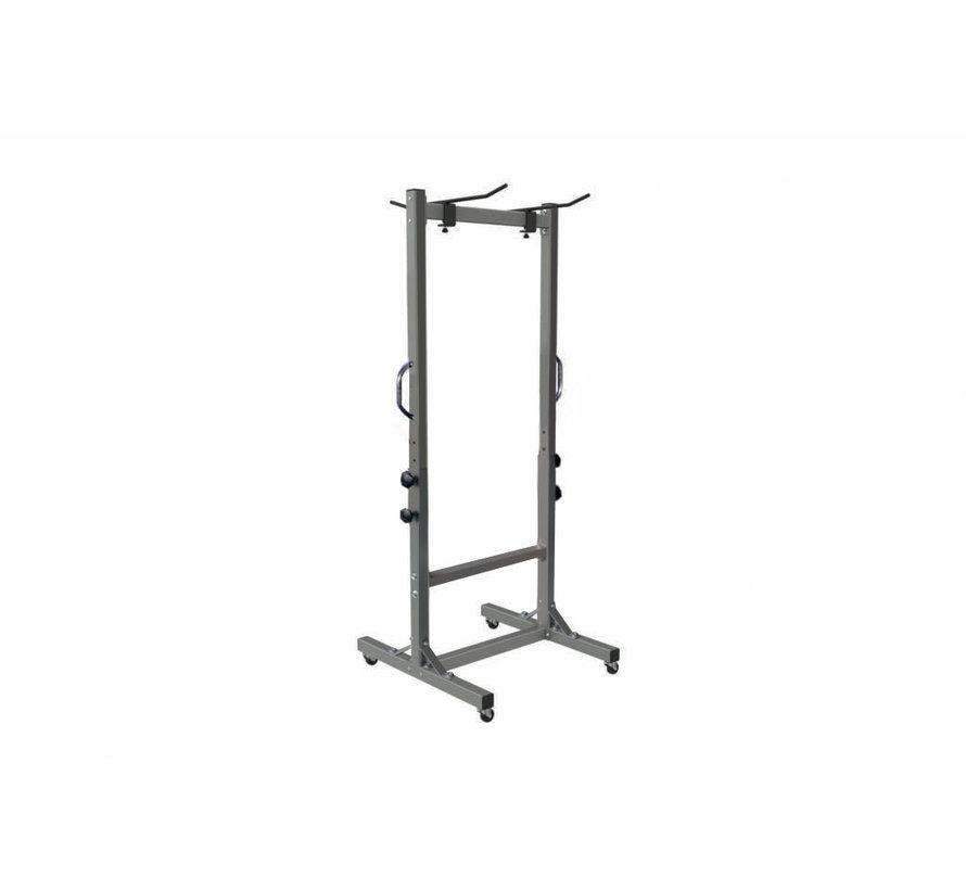Toorx RMT verplaatsbaar opbergrek voor fitnessmatten