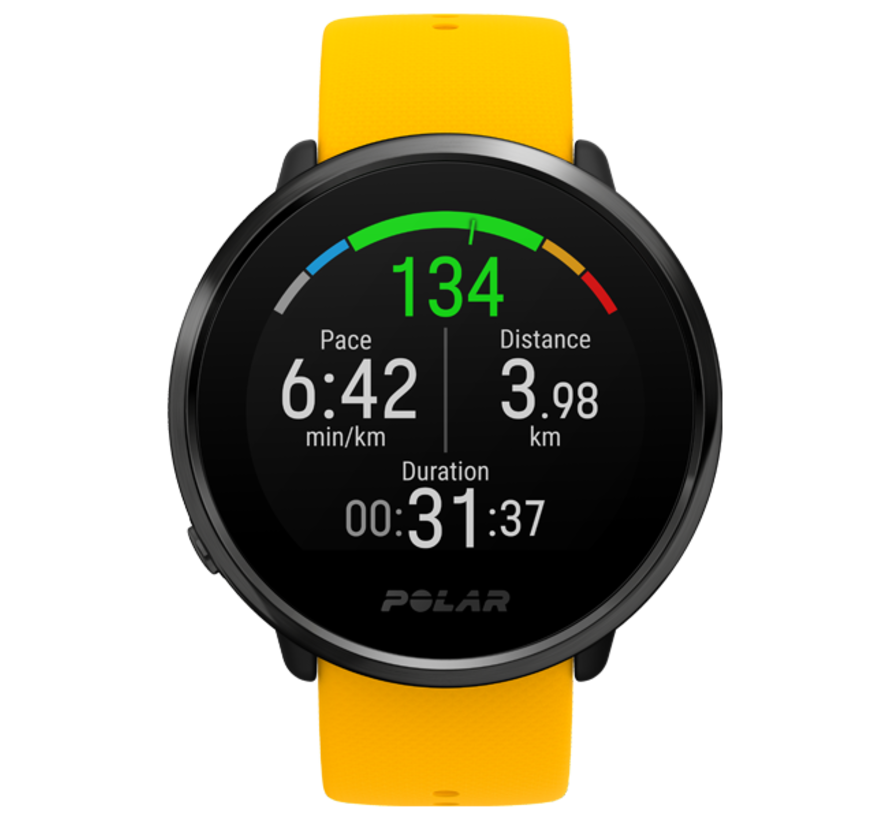 Polar Ignite Fitness watch with GPS and heart rate measurement
