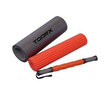 Toorx Fitness Toorx 3-in-1 Foam Roller