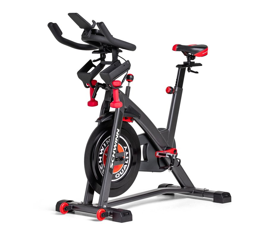 Schwinn IC8 Spinbike - with Zwift and Ridesocial