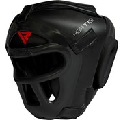 RDX Sports T1 Headguard With Removable Face Cage Black