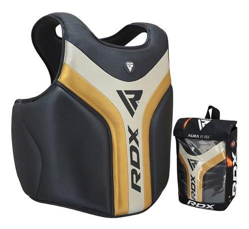 RDX Sports RDX Sports T17 Aura Borstbeschermer - Zwart/goud