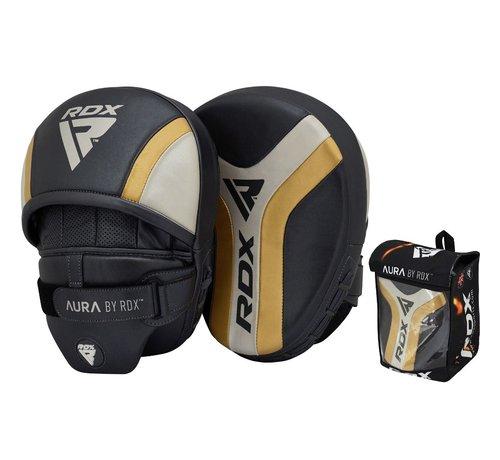 RDX Sports RDX Sports T17 Aura Focus Pads Zwart/goud