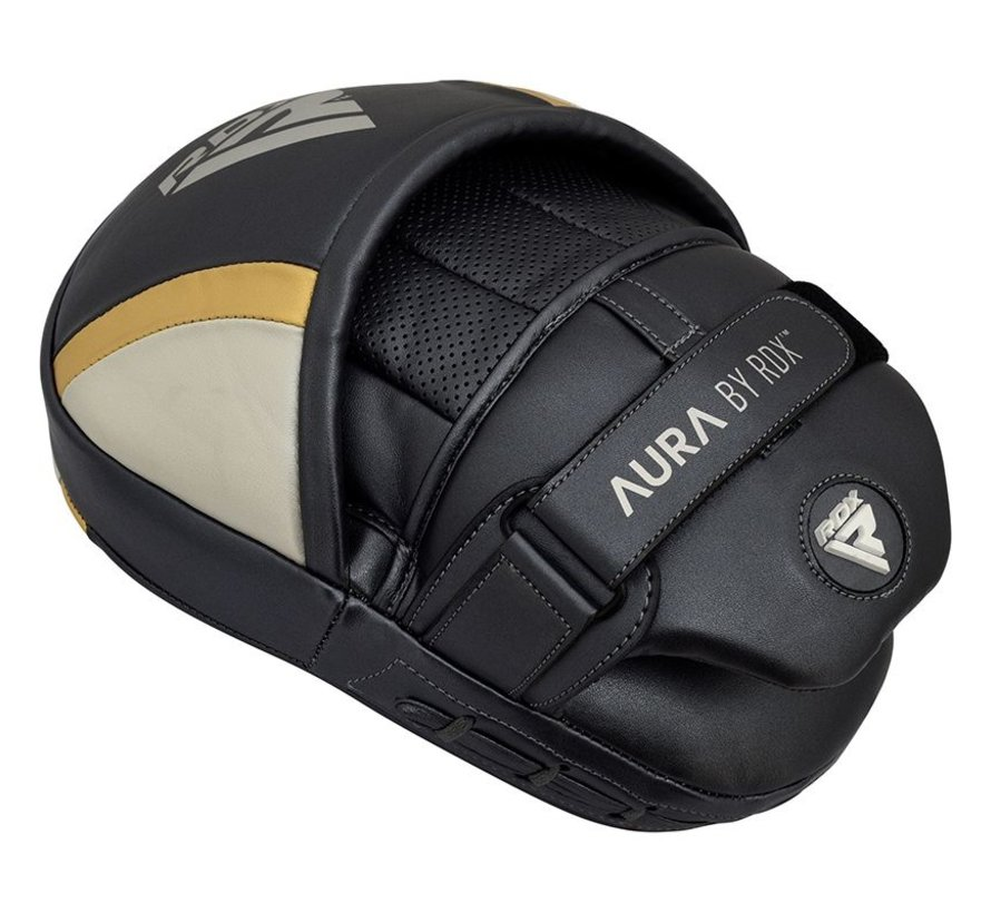 RDX Sports T17 Aura Focus Pads Zwart/goud