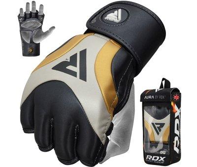RDX Sports RDX Sports T17 Aura Grappling Gloves   MMA - Zwart/goud