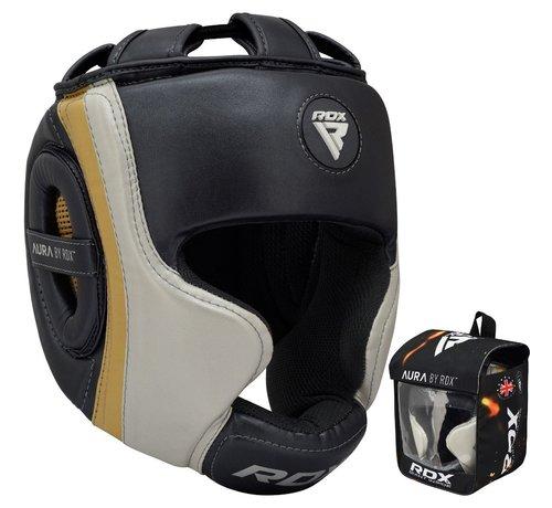 RDX Sports RDX Sports T17 Aura Hoofdbeschermer | Head Guard - Zwart/goud