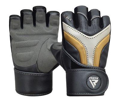 RDX Sports RDX Sports T17 Aura Gym Handschoenen - Zwart/goud