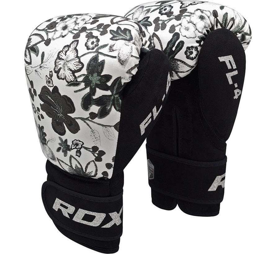 RDX Bokshandschoenen FL-4 FLORAL Wit