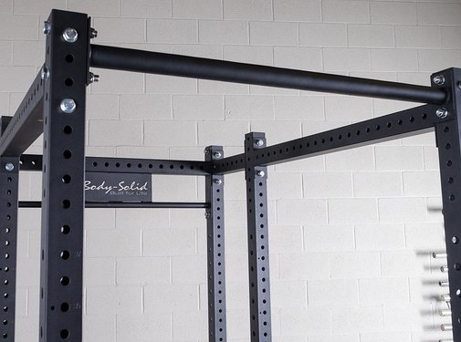 Body-Solid Body-Solid Power Rack Attachment Fat Chin-Up Crossmember SPRCB