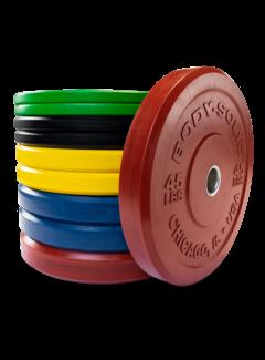 Body-Solid Body-Solid Chicago Extreme Gekleurde Olympische Bumper Plates OBPXCK