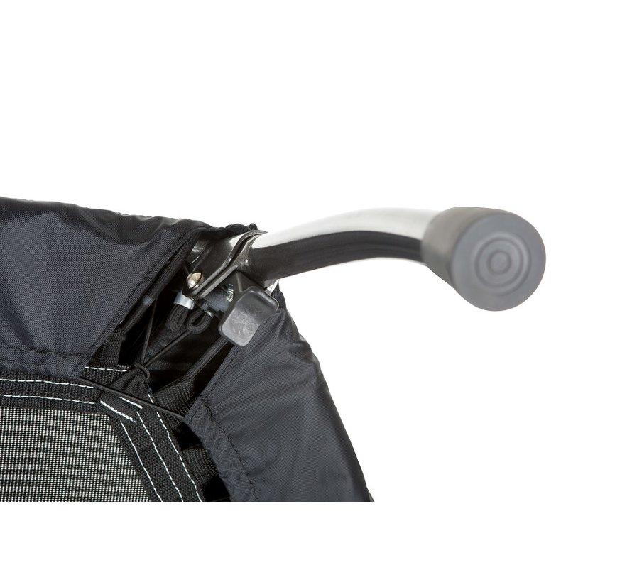 Hammer CROSS JUMP Fitnesstrampoline - Inklapbaar - met targetpunten - verstelbaar T-stuk