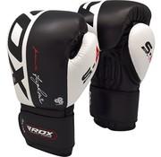 RDX Sports RDX Bokshandschoenen Leer S4 - Zwart