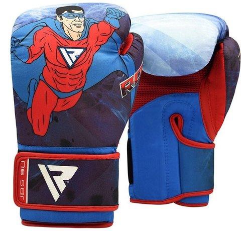 RDX Sports RDX Sports 9U Bokshandschoenen - 6 oz - Superheld print - voor kinderen
