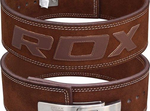 RDX Sports RDX Powerlifting Leren Riem Pro - Met Gesp