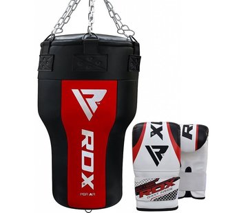 RDX Sports RDX Angle Bokszak + Handschoenen - Incl. Ketting