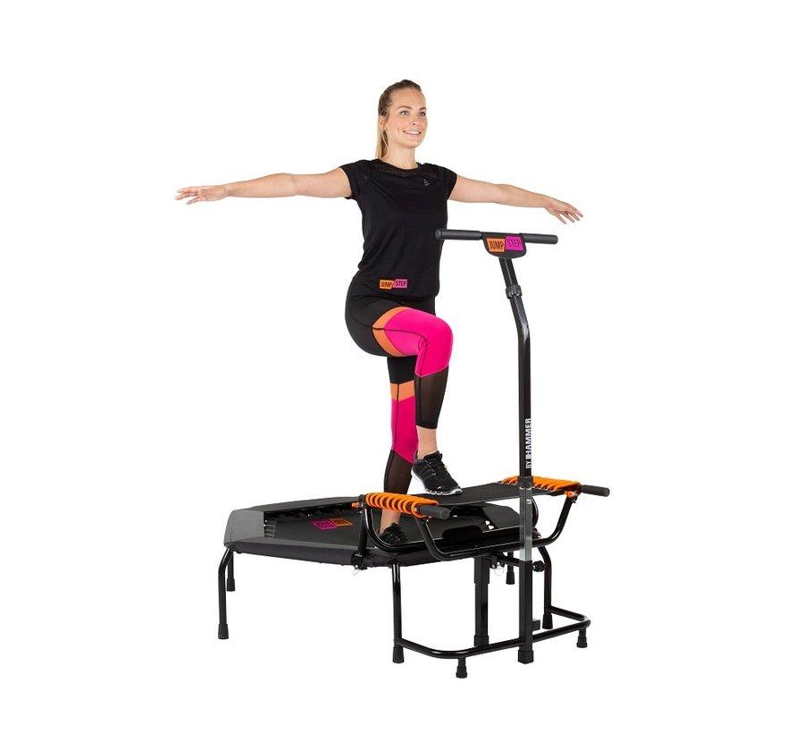 Hammer JumpStep Fitnesstrampoline met Step