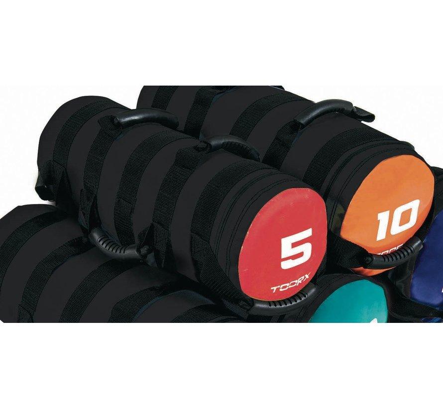 Toorx Powerbag met 6 hendels - fitnessbag