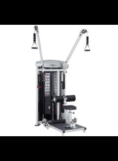 Steelflex Mega Power M3D High Low Pulley met 95 kg stapel