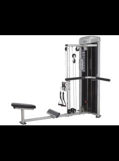 Steelflex Steelflex Mega Power M3D Back Row Machine met 61 kg stapel