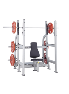 Steelflex Steelflex Neo Olympic Military rack-Bench NOMB
