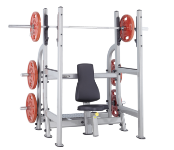 Steelflex Steelflex Neo Olympic Military rack-Bench NOMB