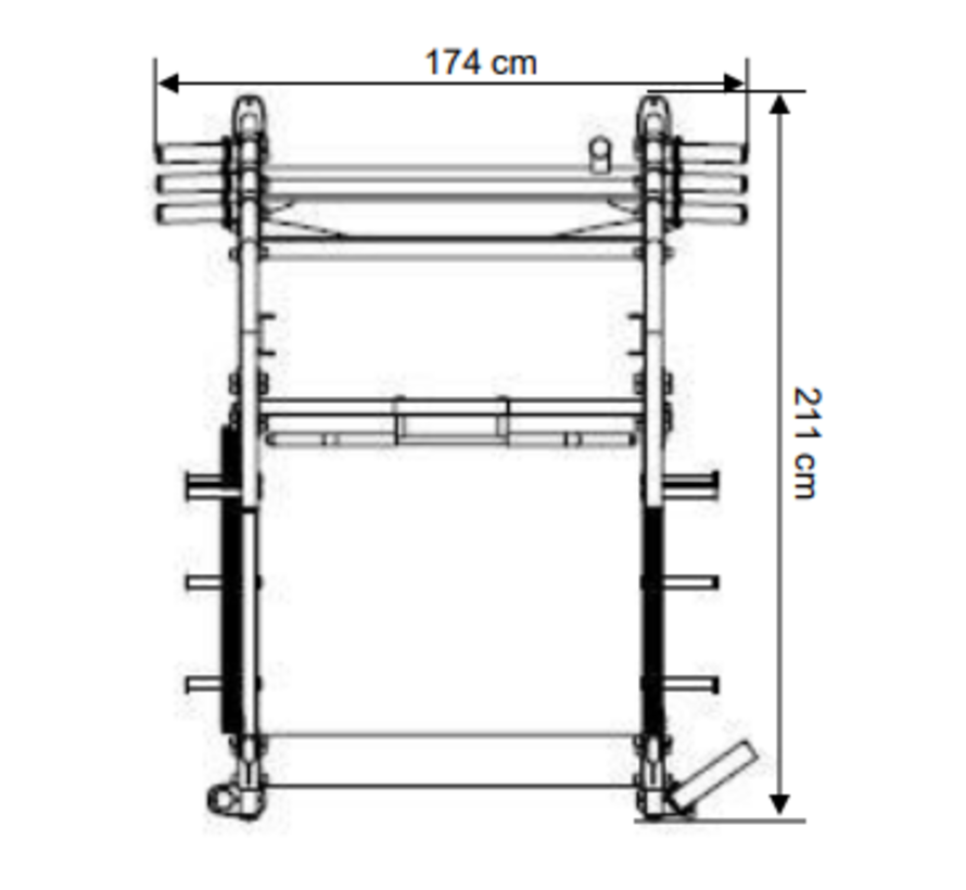 Steelflex Neo Olympic Power Rack NOPR