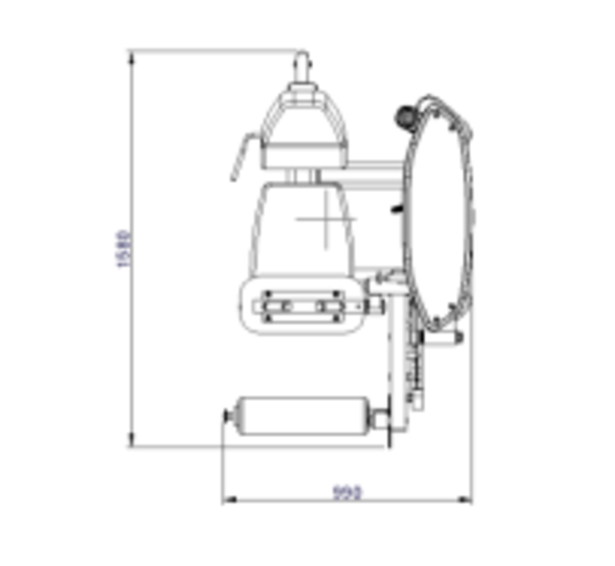 Steelflex Mega Power Leg Curl Machine MLC-400/2