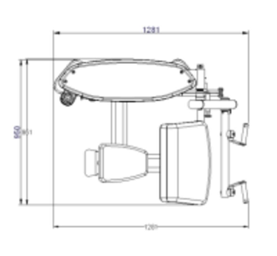 Steelflex Mega Power Bicep Curl Machine MBC-600/2