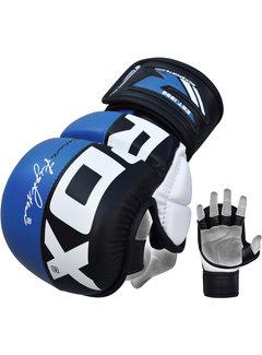 RDX Sports Sparringhandschoenen REX Blauw T6