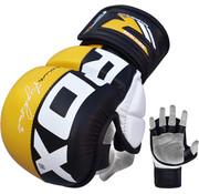 RDX Sports RDX Sports Sparringhandschoenen REX Geel T6