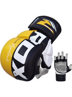 RDX Sports Sparringhandschoenen REX Geel T6