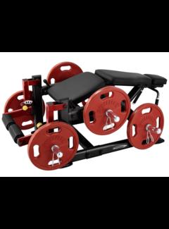 Steelflex PlateLoad Leg Curl Machine PLLC