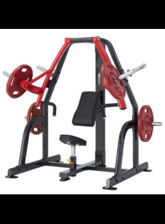 Steelflex PlateLoad Seated Decline Press Machine PSDP