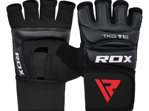 RDX Sports RDX T1 Taekwondo Gloves Zwart TGR-T1B