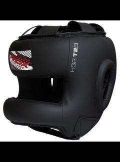 RDX Sports T2 Gel Padded Nose Protection Hoofdbeschermer Zwart