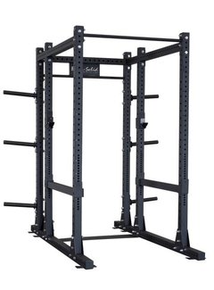 Body-Solid Full Commercial Power Rack Uitgebreide Basis KSPR1000BACK
