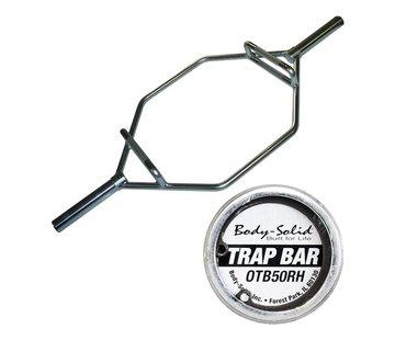 Body-Solid Body-Solid Olympische Shrug Bar met hendels